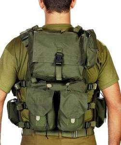 IDF Army Special Force Recon Load Tactical Vest Airsoft Cordura Combat