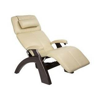 Human Touch Leather Perfect Chair Recliner Zero Anti Gravity Lounger
