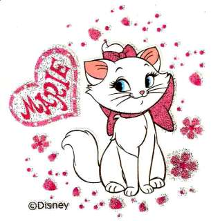 Aristocat Marie Cat Disney Tshirt Iron On Transfer