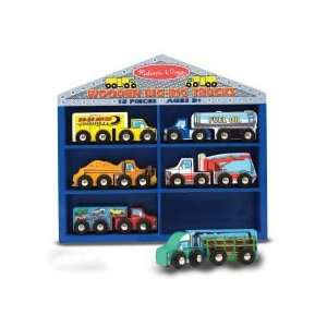 Melissa & Doug Train and Vehicle Sets   Big Rig Trucks MD