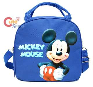 Disney Mickey Mouse School Lunch Bag Insulated Snack