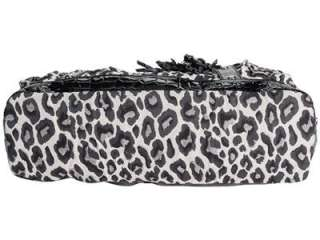 NEW GUESS B MARCIANO ZAMBIA LEOPARD ANIMAL PRINT DRAWSTRING CROSSBODY