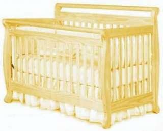 Sleigh Bed Crib Plans