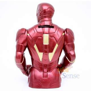 Mavel Iron Man Bust Figure Coin Bank 2
