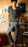 Men Fashion Slim Harem Pants Trousers 2 Colors New #021