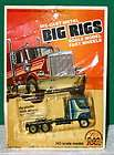 BIG RIGS Die Cast Metal HO Scale Truck 1981 ZEE NIP