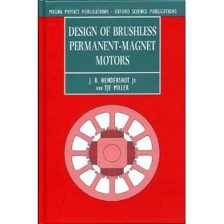 Design of Brushless Permanent Magnet Motors …