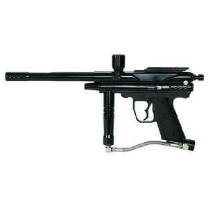 Pirahna GTI+ Semi Auto Paintball Gun   Black Sports