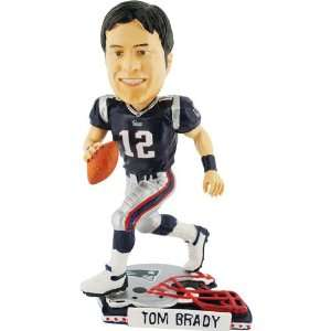 Brady New England Patriots Helmet Base Bobblehead