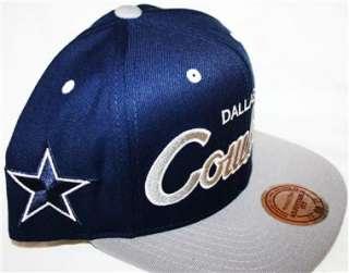 Mitchell & Ness Retro Dallas Cowboys Snapback Cap Hat