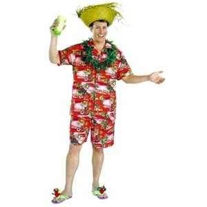 Luau Mens Large Shirt [Apparel]