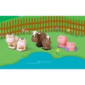Step2 Main Street Village Countryside Farm Animals Toys