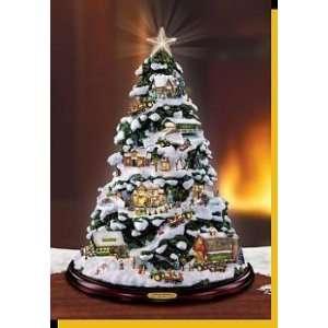 John Deere Thomas Kinkade Holiday Tree