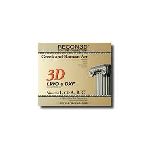 RECON3D Vol.1 Greek and Roman Art, 3D Content Collection