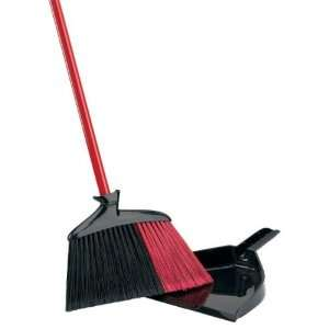 Libman Indoor/outdoor Angle Broom with Dustpan Everything