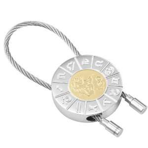 Leo Zodiac Key Ring Zodiac Signs Lion Key Chain Holder