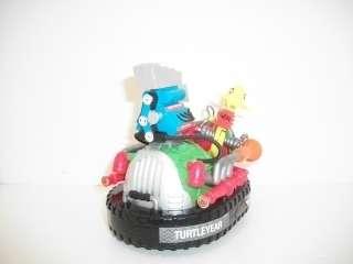 TMNT Turtles 1991 Dons KOOKIE CARNIVAL CAR 100% Complete a