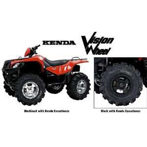 Black Vision Wheel & Kenda Executioner Tire Right Rear