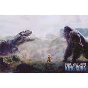 King Kong Movie Poster (11 x 17 Inches   28cm x 44cm) (2005) Style U