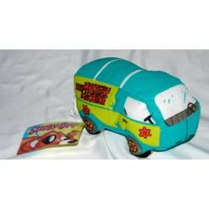 7 Scooby Doo Mystery Machine Plush Toys & Games