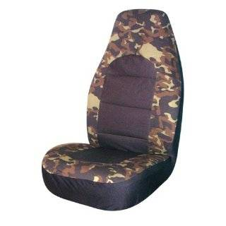FH FB109114 Camouflage Car Seat Covers, Airbag compatible
