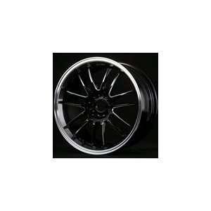 Volk Racing RE30 Premium Color Black Machined Wheel   5x112, 18x8.0J