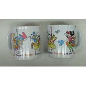 Mickey & Minnie Mouse & Donald & Daisy Duck Plastic Cups Everything