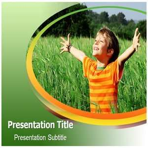 Powerpoint Template   Happiness Powerpoint Templates Backgrounds