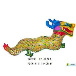china dragon shape helium mylar balloon 32 x 40 inch super