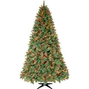 Ft. Wakefield Blue/green Slim Christmas Tree Multi Lights Everything