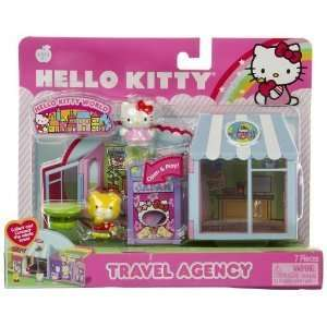 Sanrio Hello Kitty World Playset   TRAVEL AGENCY Toys & Games