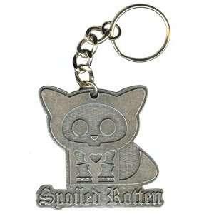 Spoiled Rotten Kit The Cat Metal Keychain K SKA 0001 E Toys & Games