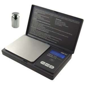 American Weigh Signature Series Black Digital Pocket Scale