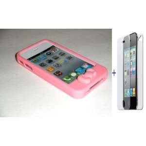 Quality (Baby Pink, Light Pink) Slim Candy Jelly Silicone Case Skin