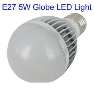 Power E27 5W Warm White LED Light AC 85V ~ 265V Input Energy Saving