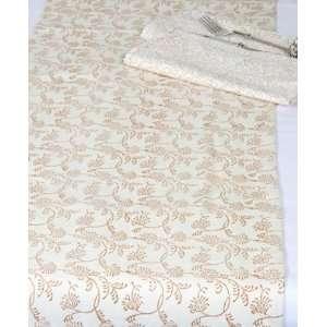 Table Runner   Autumn Floral Burst; Beautiful Gift; 100% Cotton Table
