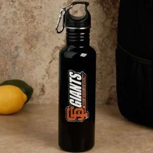 San Francisco Giants Black 750ml Stainless Steel Water