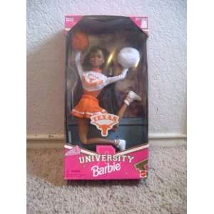 Texas University Barbie African American Cheerleader Doll