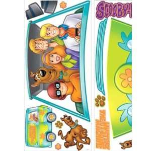 Wallpaper York RoomMates 09 Scooby Doo Mystery Machine Peel and Stick