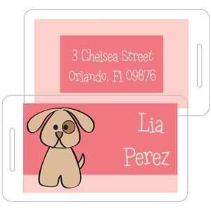 Inkpressed Laminated Luggage/ID Tags   Spot Girl: Office Products