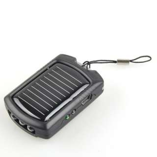 Solar Power Charger 3 LED Light for Cell Phone Nokia