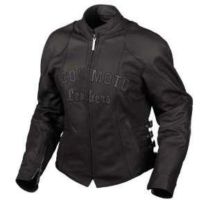 Bombshell Leather Motorcycle Jacket Black Extra Large Automotive