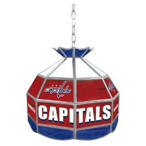 NHL Washington Capitals Stained Glass Tiffany Lamp   16