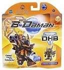 Battle B Daman Direct Hit Figure: Chrome Zephyr