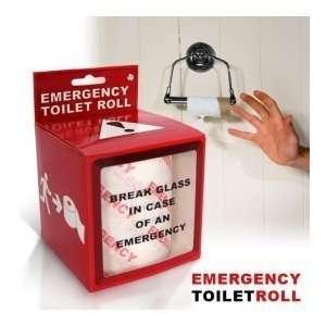 Emergency Toilet Paper Roll in Gift Box, Fun Novelty Joke Item