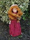 Victorian Bisque Head MY SWEETHEART 1800s Brown Eyed Doll