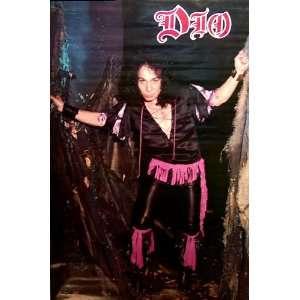 Dio   Ronnie James Dio Last in Line Original 80s 22x34 Poster