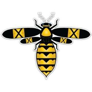 Wasp Hornet Bee Car Bumper Sticker Decal 4x3