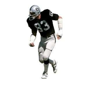 Ted Hendricks Oakland Raiders NFL Fathead REAL.BIG Wall Graphics