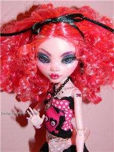 Valentina~Ooak Monster High Doll~Dressed~